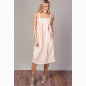 NWT Knot Sisters Stella Dress in shell